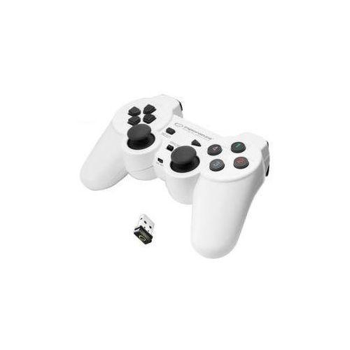 Gamepad  egg108w gladiator pro pc/ps3 (egg108w - 5901299947272) biały marki Esperanza
