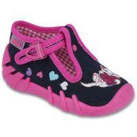 buty dziewczęce speedy 20 różowy/czarny marki Befado