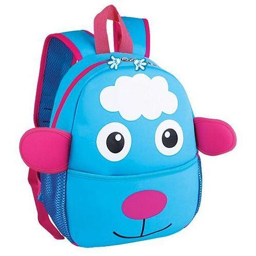 Plecak neonowy owca niebieska - Easy