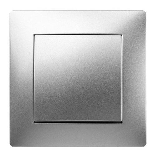 Elektroplast volante łącznik jednobiegunowy srebrny 2610-06 (5902012982358)