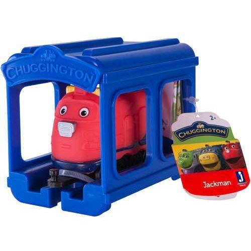 Stacyjkowo lokomotywa z garażem jackman marki Epee