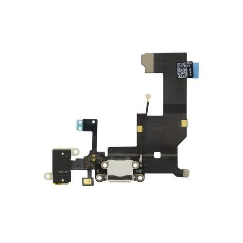 Gsm-parts Złącze gniazdo ładowania lightning mikrofon hf audio iphone 5g (biały)