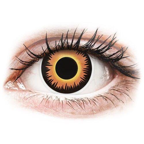 ColourVUE Crazy Lens - Orange Werewolf - jednodniowe zerówki (2 soczewki) (9555644825645)
