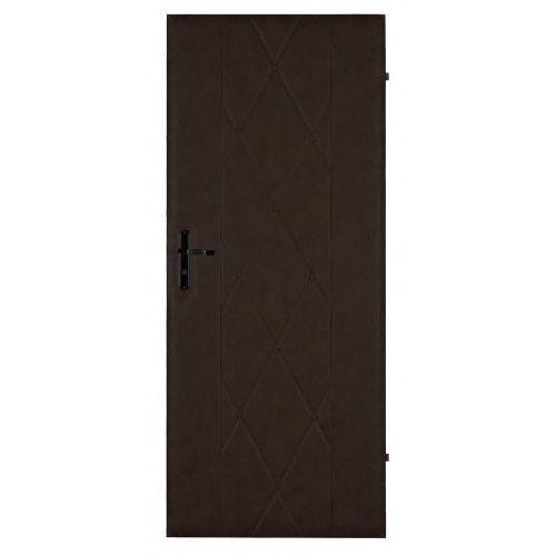 Tapicerka drzwiowa krata 3 brąz 85cm marki Gockowiak