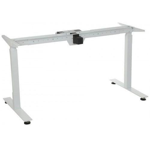 Stelaż metalowy biurka (stołu) z elektryczną regulacją wysokości, STE-01T, kolor biały, STE-01T BIALY