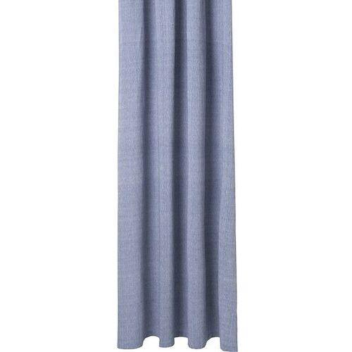 Zasłona prysznicowa Chambray niebieska, 9295
