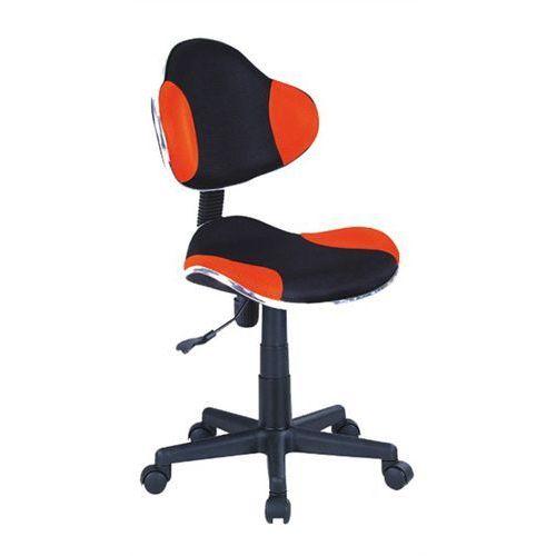 Fotel Q-G2 Czarny Czerwony