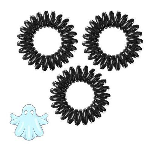 Invisibobble Innowacyjna gumka do włosów: czarna 3 szt.