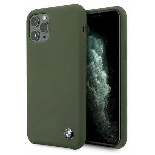 Bmw Etui bmhcn58silmg iphone 11 pro zielony/midnight green hardcase silicone signature