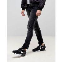 Loyalty and faith hayden skinny biker jeans in black - black marki Loyalty & faith
