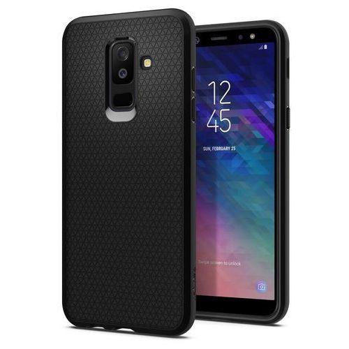 Etui Spigen Liquid Air Samsung Galaxy A6+ Plus Black (8809606426854)
