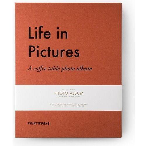Printworks Album na zdjęcia life in pictures pomarańczowy