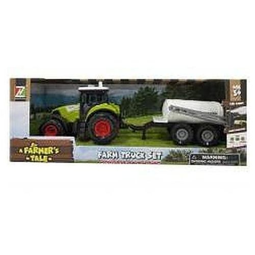 Traktor z przyczepą dzwiękiem i światłem (6901440112374)
