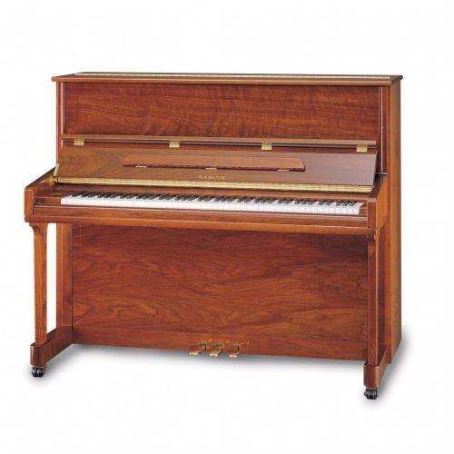 Samick JS 121 MD WAST pianino (121 cm), kolor brąz satynowy