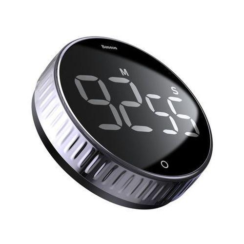 Baseus heyo obrotowy minutnik czasomierz elektroniczny timer czarny (acdjs-01) (6953156216129)