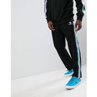 joggers with taped side stripes in black 10006733-a09 - black, Converse, XS-XXL
