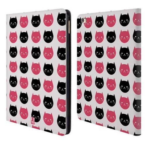 Etui portfel na tablet - cats and dots black and pink marki Head case