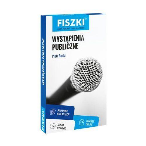 Fiszki Wystąpienia publiczne - Bucki Piotr (9788378432494) - OKAZJE
