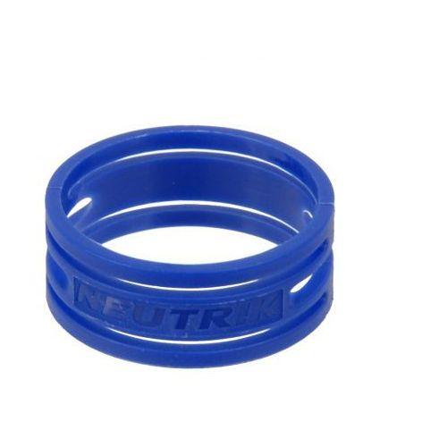 xxr 6 pierścień na złącze nc**xx* (niebieski) marki Neutrik