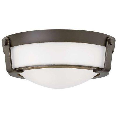 Hinkley Plafon lampa sufitowa hk/hathaway/f/sb elstead zewnętrzna oprawa klasyczna natynkowa outdoor ip44 brąz biała