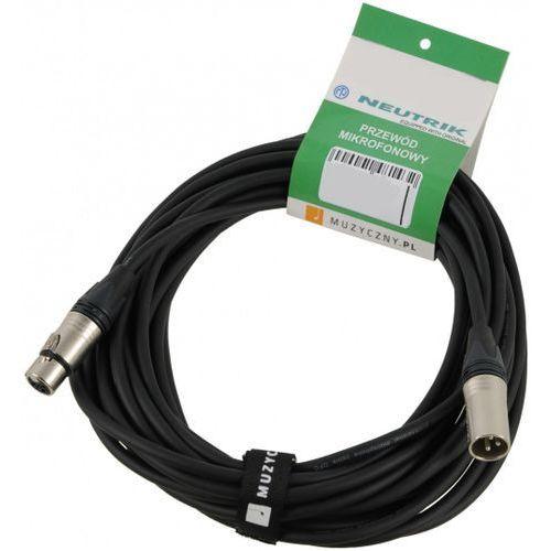 mic pro 0,5m przewód mikrofonowy xlr-f - xlr-m, neutrik, my206 marki Klotz