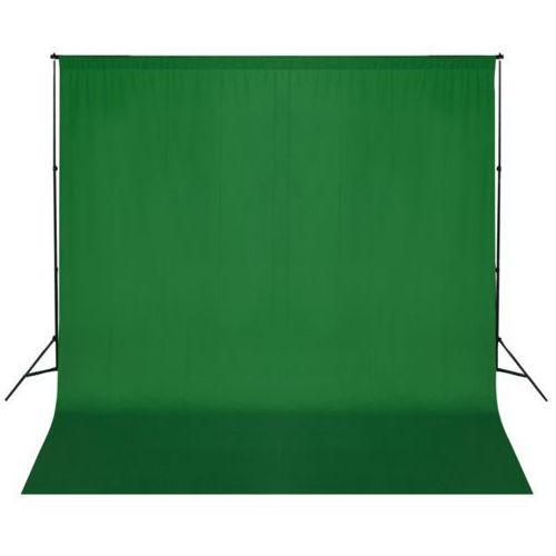 Vidaxl  zestaw do zawieszenia wraz tłem fotograficznym. zielony