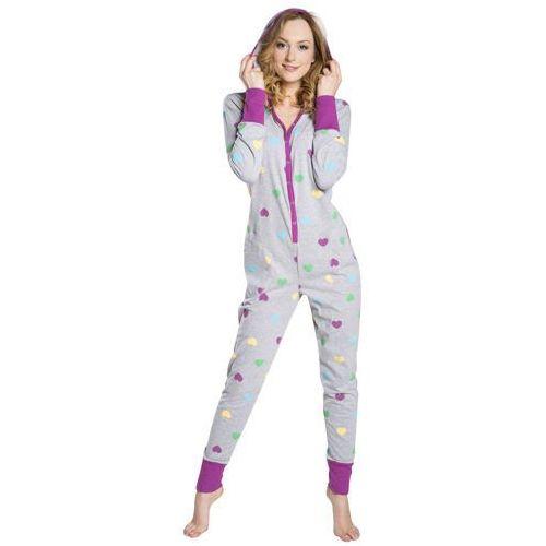 Kombinezon do spania piżama ami italion fashion - szary marki Italian fashion