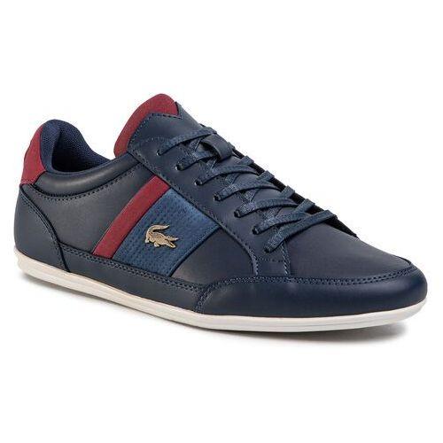 Sneakersy - chaymon 120 4 cma 7-39cma0012 nvy/dk red marki Lacoste