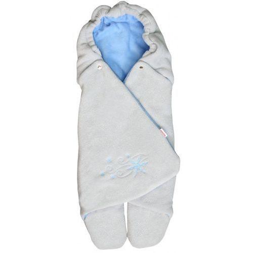 Emitex rożek dla niemowląt ZOE, szary/jasnoniebieski