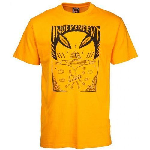 Koszulka - hitz ritual decomissioning tee orange (orange) rozmiar: m marki Independent