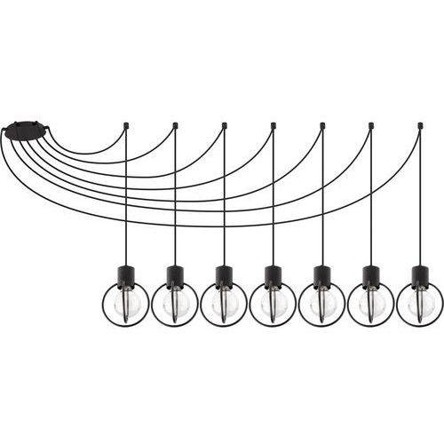 Aura koło 7 czarny mat podwieszana 31087 SIGMA, kolor Czarny
