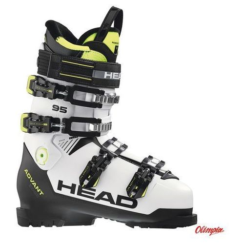 Buty narciarskie advant edge 95 white/black/yellow 2018/2019 marki Head