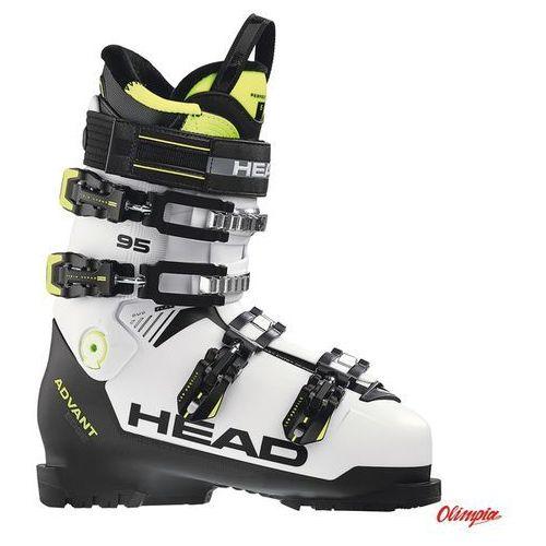 Buty narciarskie Head Advant Edge 95 White/Black/Yellow 2018/2019