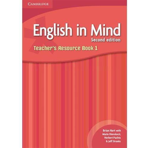 English in Mind 1. Teacher's Resource Book, Cambridge University Press. Najniższe ceny, najlepsze promocje w sklepach, opinie.