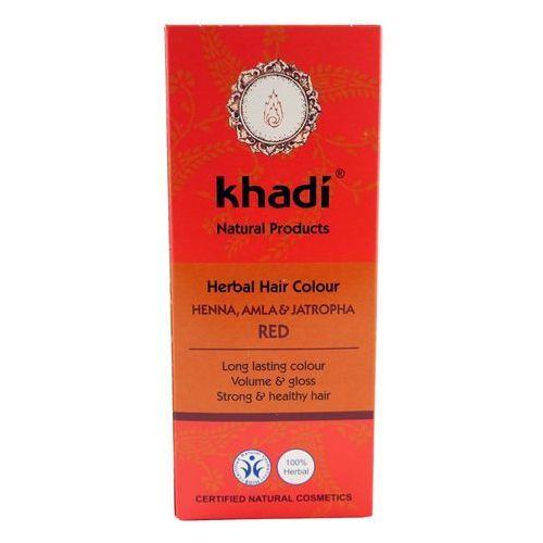 - henna naturalna z amlą i jatrophą marki Khadi