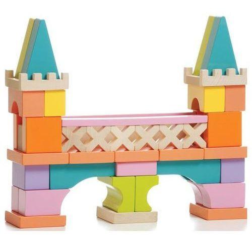 LEVENYA Most z drewnianych klocków, 52 elem. (4823056511377)