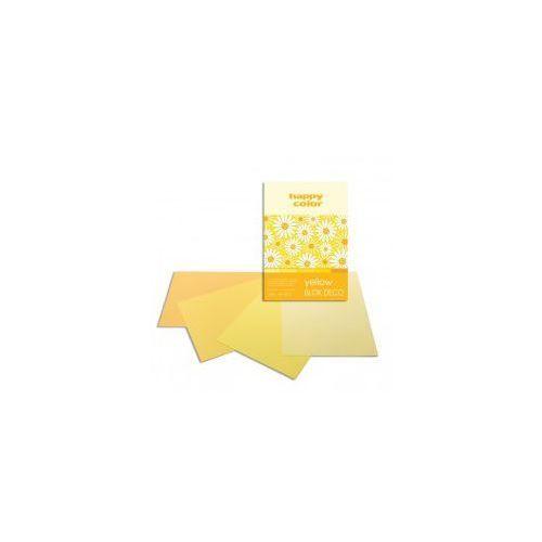 Blok dekoracyjny a4 happy color 170g yellow marki Staedtler