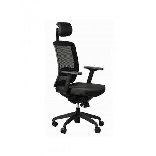 Fotel ergon czarny marki Sitplus