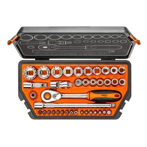 Neo Zestaw kluczy nasadowych 1/2 cala 08-630 (38 elementów) + zamów z dostawą jutro! + darmowy transport!