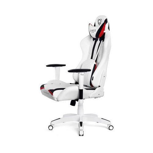 Fotel dla gracza DIABLO CHAIRS X-Ray biało-czarny rozmiar S (5902560336153)