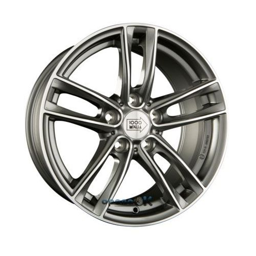 mm034 anthracite polished einteilig 8.00 x 17 et 30 marki Mille miglia