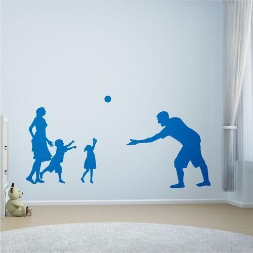 Naklejka na ścianę dla dzieci rodzina 2273