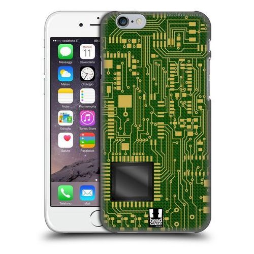 Etui plastikowe na telefon - Circuit Boards DARK GREEN
