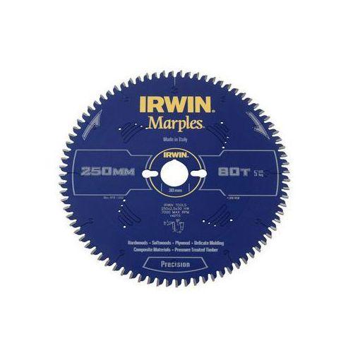 Irwin marples Tarcza do pilarki tarczowej 250mm/80t m/30 śr. 250 mm 80 z