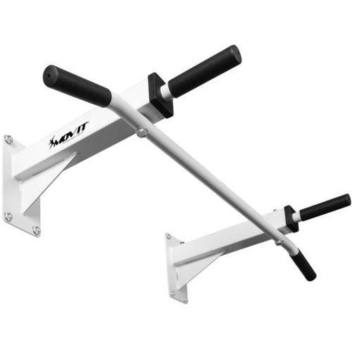 Movit ® Biały drążek ścienny gimnastyczny do podciągania 350kg - biały