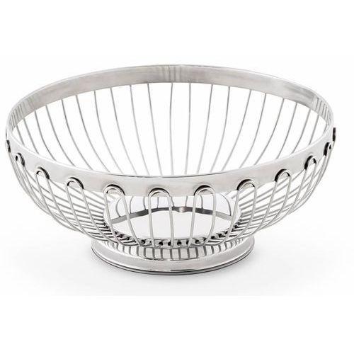 Hisar Koszyk na chleb duży platinum | Ø205x(h)80mm