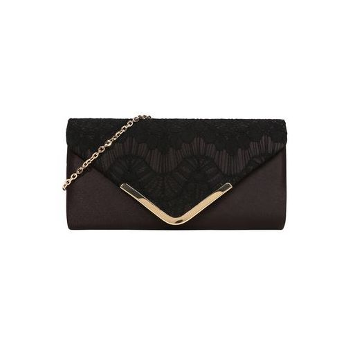 Mascara Kopertówka 'Envelope Clutch' czarny, kolor czarny