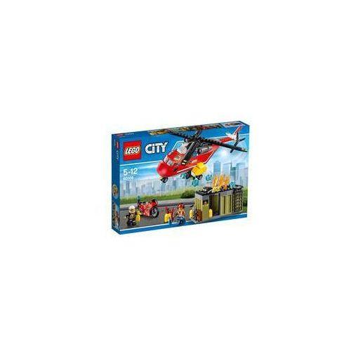 Zestawy city fire 60108 helikopter strażacki marki Lego®