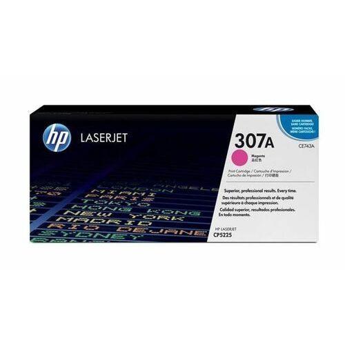Toner oryginalny CE743A - 307A do HP Color LaserJet CP5225 / Czerwony / 7300 stron
