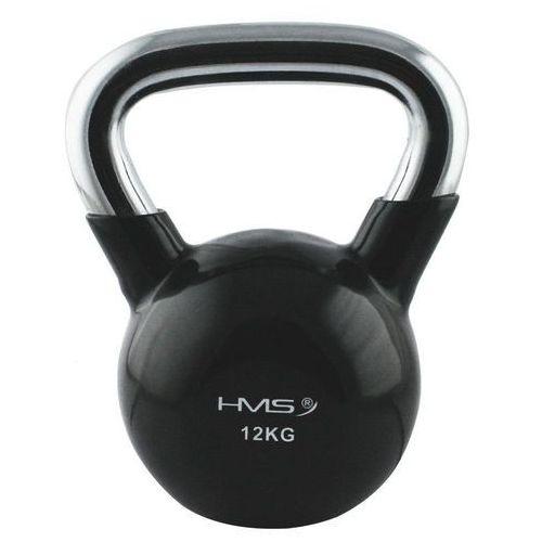 Hms Hantla gumowana kettlebell 12 kg -  - 12 kg (5907695590869)